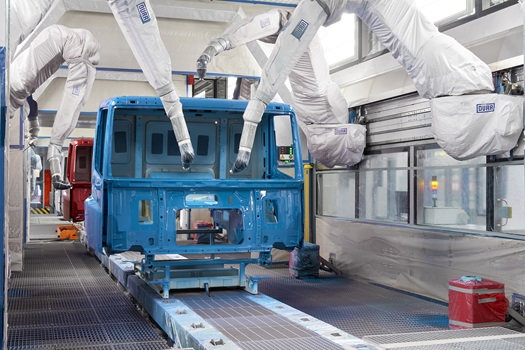 DAF Cab Paint Facilities