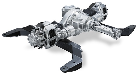 DAF Components New Driven Bus Axle