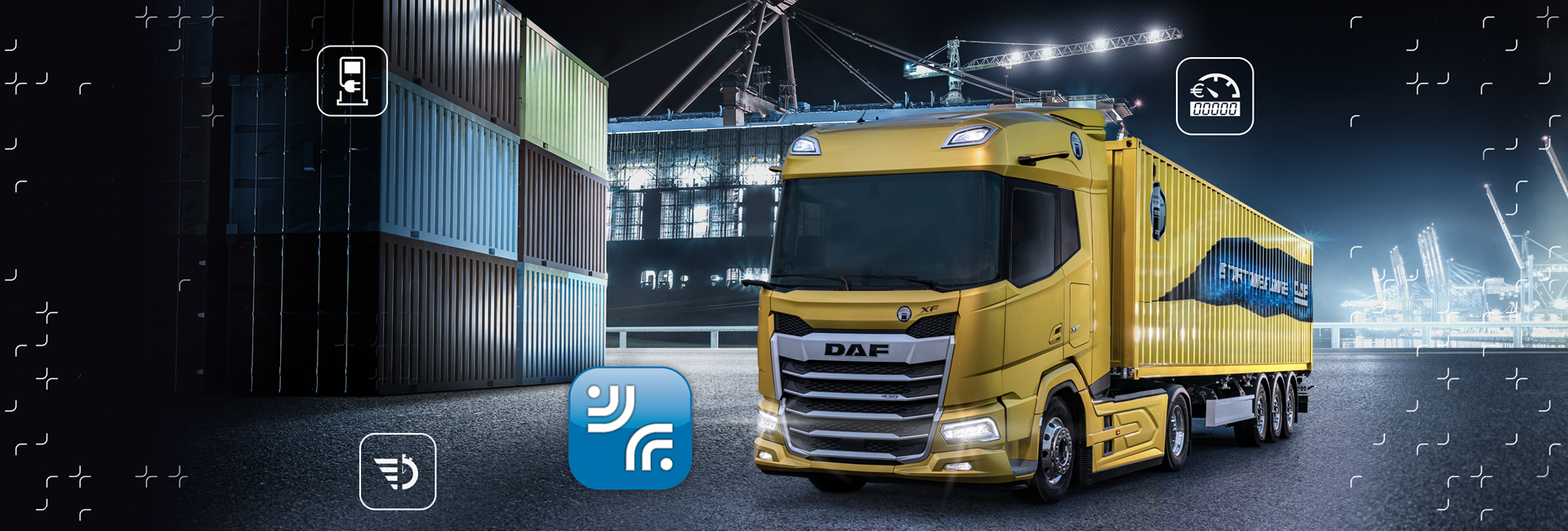 DAF Connect visual